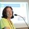 """Claudia Medina apresenta a palestra """"Regulamentação para acesso a dados secundários para pesquisa em saúde"""""""