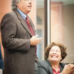Presidente da Fiocruz, Paulo Gadelha e Lygia Corrêa