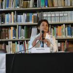 Palestra da pesquisadora Aurea Rocha-Pitta