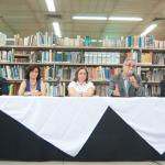 Mesa de Abertura do evento